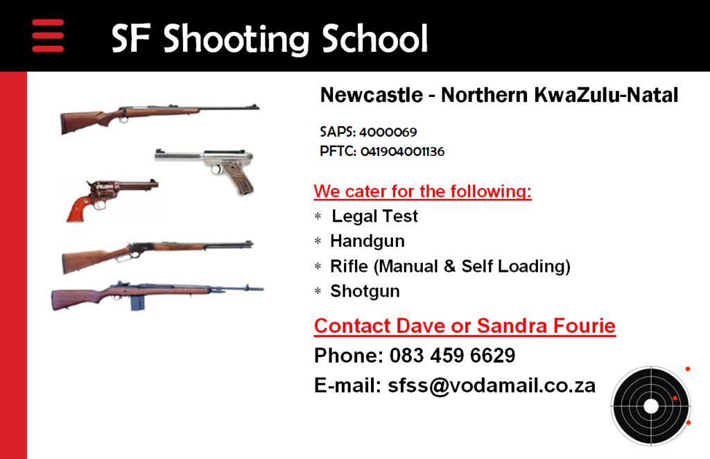 BUFFALO RIVER SHOOTING CLUB Newcastle